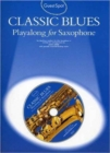 Guest Spot : Classic Blues Playalong For Alto Saxophone - Book