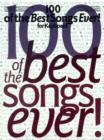 100 Of The Best Songs Ever] For Keyboard - Book