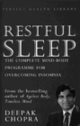 Restful Sleep : The Complete Mind/Body Programme for Overcoming Insomnia - Book