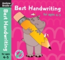 Best Handwriting for Ages 4-5 - Book