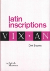 Latin Inscriptions - Book
