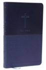 NKJV, Value Thinline Bible, Leathersoft, Blue, Red Letter, Comfort Print : Holy Bible, New King James Version - Book