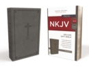NKJV, Deluxe Gift Bible, Leathersoft, Gray, Red Letter, Comfort Print : Holy Bible, New King James Version - Book