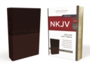 NKJV, Deluxe Gift Bible, Leathersoft, Tan, Red Letter, Comfort Print : Holy Bible, New King James Version - Book