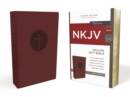 NKJV, Deluxe Gift Bible, Leathersoft, Burgundy, Red Letter Edition, Comfort Print : Holy Bible, New King James Version - Book