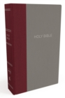 NKJV, Thinline Bible, Cloth over Board, Burgundy/Gray, Red Letter Edition, Comfort Print : Holy Bible, New King James Version - Book