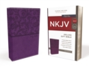 NKJV, Deluxe Gift Bible, Leathersoft, Purple, Red Letter Edition, Comfort Print : Holy Bible, New King James Version - Book
