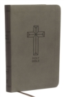 NKJV, Value Thinline Bible, Compact, Leathersoft, Black, Red Letter, Comfort Print : Holy Bible, New King James Version - Book