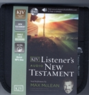 KJV, Listener's Audio New Testament, Audio CD : Vocal Performance by Max McLean - Book