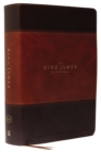 KJV, The King James Study Bible, Leathersoft, Brown, Red Letter, Full-Color Edition : Holy Bible, King James Version - Book