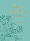 Jesus Calling : Enjoying Peace in His Presence, large text teal leathersoft, with full Scriptures - Book
