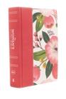The NKJV, Woman's Study Bible, Cloth over Board, Pink Floral, Full-Color, Red Letter : Receiving God's Truth for Balance, Hope, and Transformation - Book