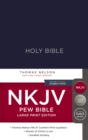 NKJV, Pew Bible, Large Print, Hardcover, Blue, Red Letter, Comfort Print : Holy Bible, New King James Version - Book