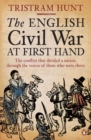 The English Civil War At First Hand - Book