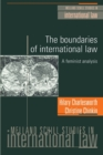 The Boundaries of International Law : A Feminist Analysis - Book