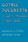 Gothic Documents : A Sourcebook 1700-18 - Book