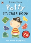 Pirate Pete's Potty sticker activity book - Book