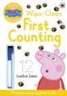 Peppa Pig: Practise with Peppa: Wipe-Clean First Counting - Book