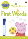 Peppa Pig: Practise with Peppa: Wipe-Clean First Words - Book