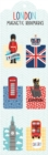 London Magnetic Bookmarks - Book