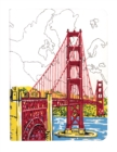 San Francisco Golden Gate Handmade Journal - Book