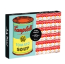 Andy Warhol Soup Can 2-sided 500 Piece Puzzle - Book