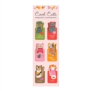 Cool Cats Magnetic Bookmarks - Book