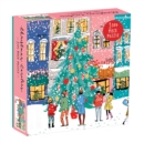 Christmas Carolers Square Boxed 1000 Piece Puzzle - Book