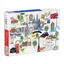 London Map 1000 Piece Puzzle - Book