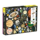Zero Gravity 1000 Piece Puzzle With Shaped Pieces - Book