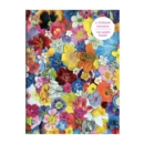 Flowers PVC Multi-Pocket Cover Journal - Book
