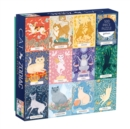 Cat Zodiac 500 Piece Puzzle - Book