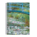 "Monet Footbridge Wire-O Journal 6 X 8.5"" - Book"