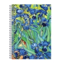 "Van Gogh Irises Wire-O Journal 6 X 8.5"" - Book"