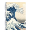 "Hokusai Great Wave Wire-O Journal 6 X 8.5"" - Book"