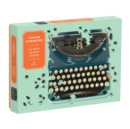Vintage Typewriter 750 Piece Shaped Puzzle - Book