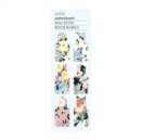 Painted Petals Magnetic Bookmark - Book