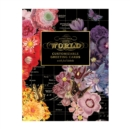 Wendy Gold Map of the World DIY Greeting Card Folio - Book
