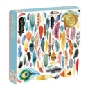 Feathers 500 Piece Foil Puzzle - Book