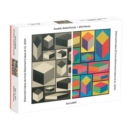 Moma Sol Lewitt 500 Piece 2-Sided Puzzle - Book