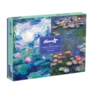 Monet 500 Piece Double Sided Puzzle - Book
