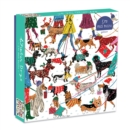 Winter Dogs 500 Piece Puzzle - Book
