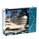 Frank Lloyd Wright Guggenheim 2-Sided 500 Piece Puzzle - Book