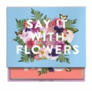 Say It with Flowers Greeting Assortment Notecard Box - Book