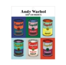 Andy Warhol Soup Can Magnets - Book