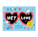 Hey Love Shaped Notecard Portfolio - Book