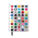 Christian LaCroix Heritage Collection Couture Candies A6 Layflat Notebook - Book