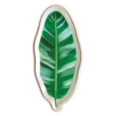 Banana Leaf Shaped Medium Porcelain Tray - Book