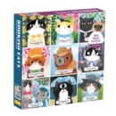 Bookish Cats 500 Piece Family Puzzle - Book