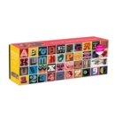Needlepoint A to Z 1000 Piece Panoramic Puzzle - Book